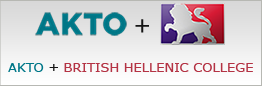 AKTO and BRITISH HELLENIC COLLEGE